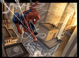 Spiderman NY by VinRoc