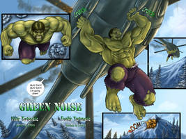 Green Noise pages4 and 5