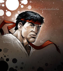 Ryu Headshot by VinRoc
