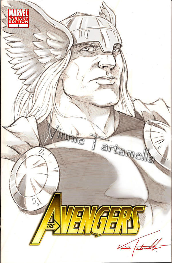 easy thor drawings - photo #35