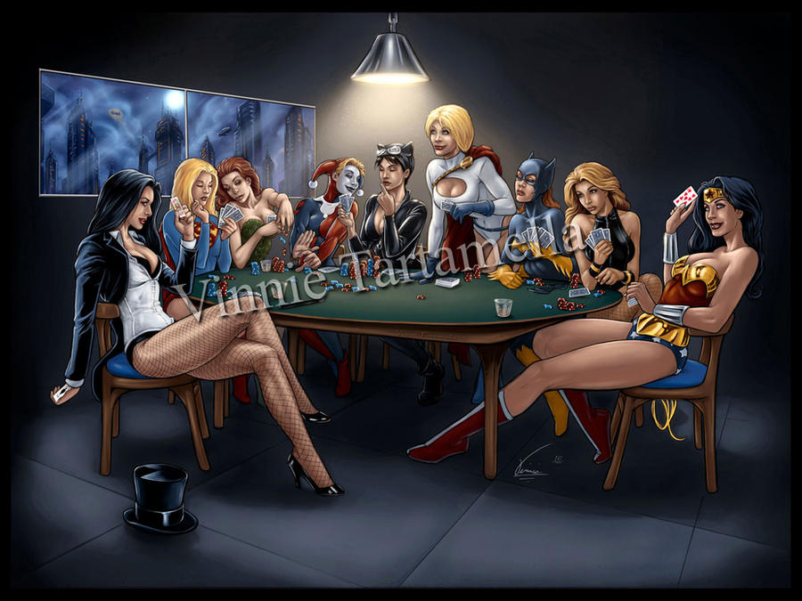 DC Girls Poker Night