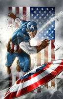 Captain America 2 by VinRoc