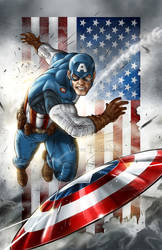 Captain America 2 by VinRoc