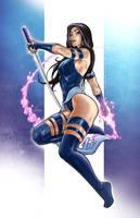 Psylocke by VinRoc