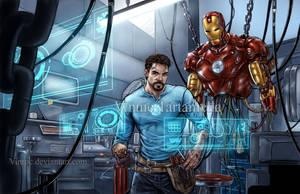 Iron man by VinRoc