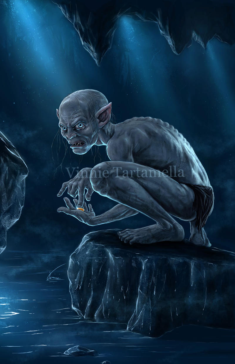 Gollum by VinRoc