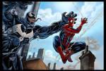 Spiderman Venom color
