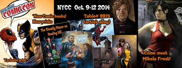 Banner NYCC 2014 by VinRoc
