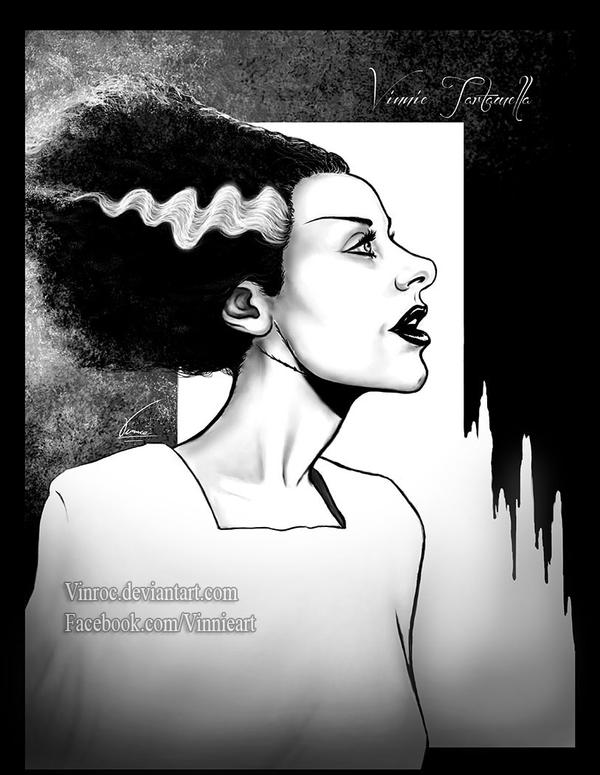 Bride of Frankenstein by VinRoc
