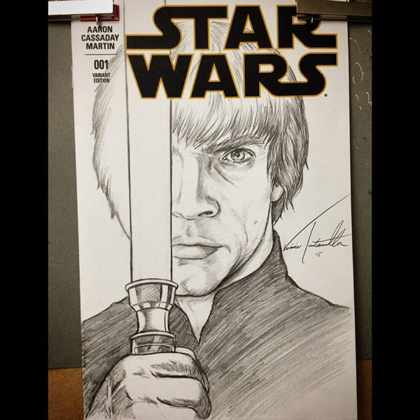 Luke Sketch Cover by VinRoc