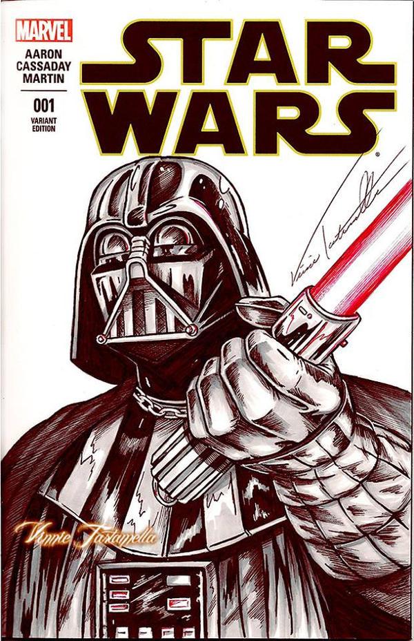 Vader sketchcover by VinRoc