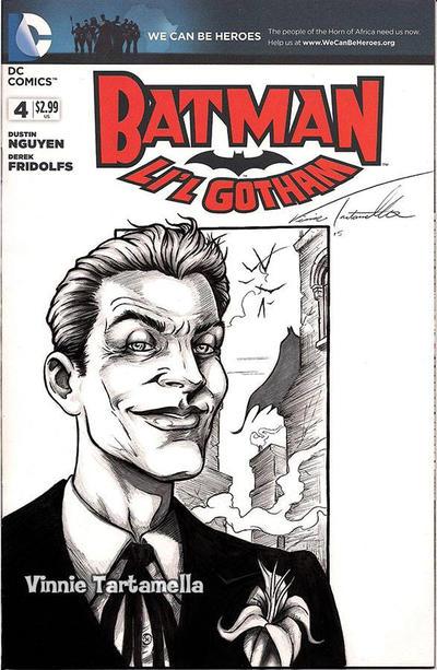 Joker sketchcover by VinRoc