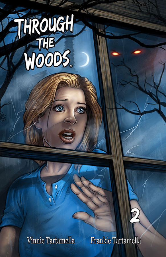 Through the Woods 2 cover