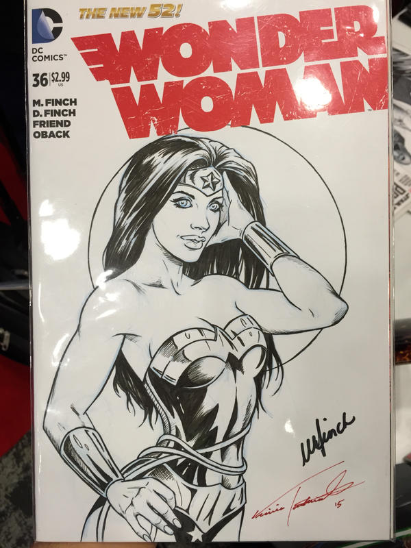 WW sketch cover nycc by VinRoc