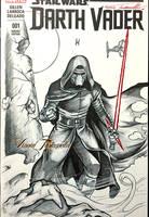 Kylo Ren sketchcover by VinRoc