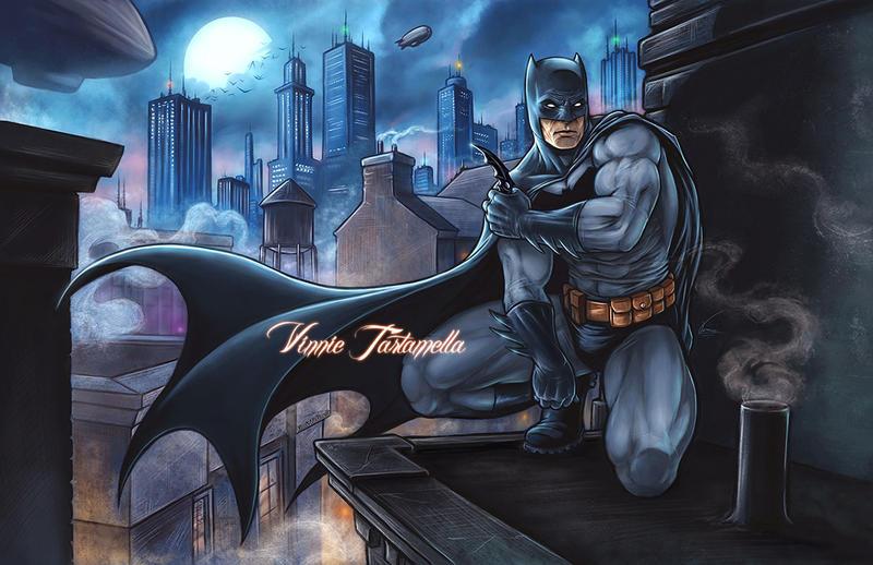 Dark Knight DK by VinRoc