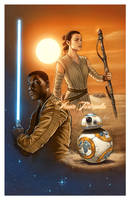 Star Wars The Force Awakens by VinRoc