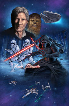 Star Wars Kylo Ren Han Solo