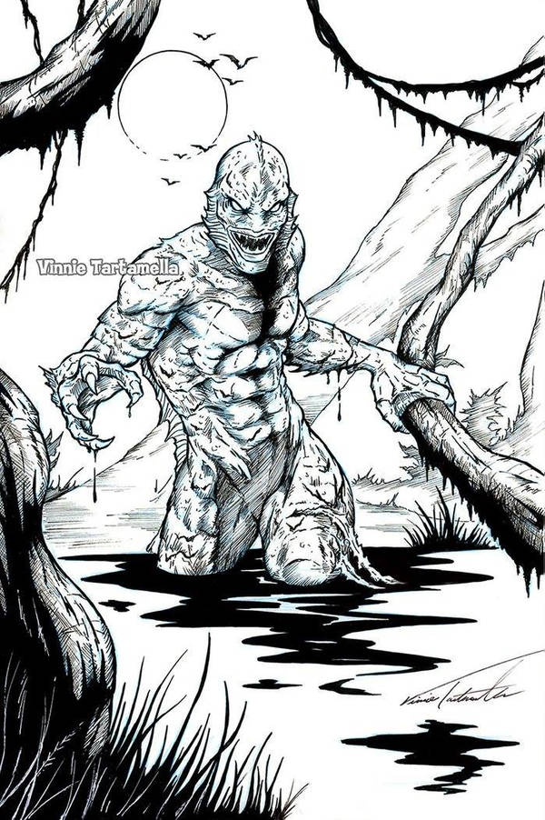 Creature from the Black Lagoon by VinRoc