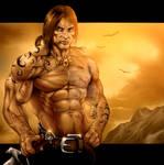 Savage warrior