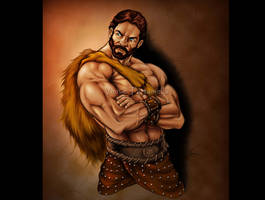 Hercules illustration by VinRoc