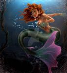 Cautious swimmer
