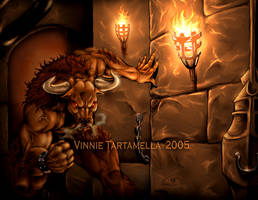 Minotaur by VinRoc