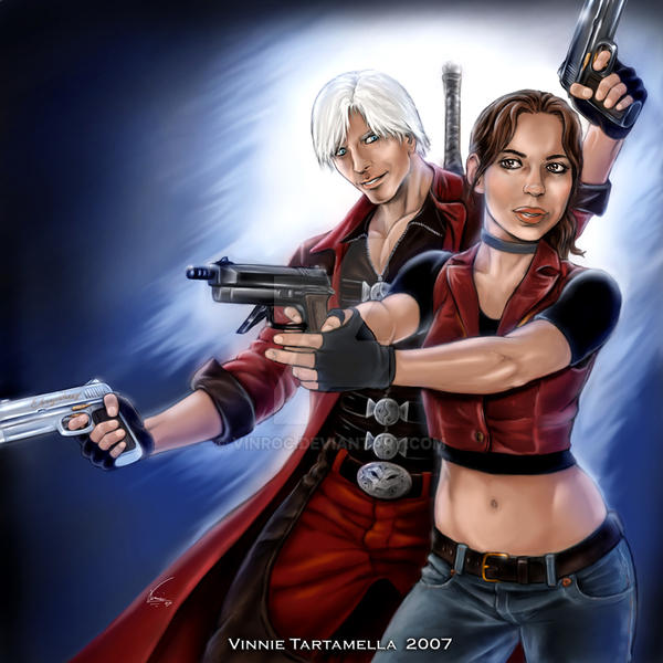 Dante and Claire by VinRoc on DeviantArt
