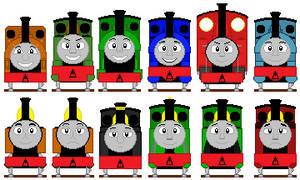 Mid-Sodor Engines