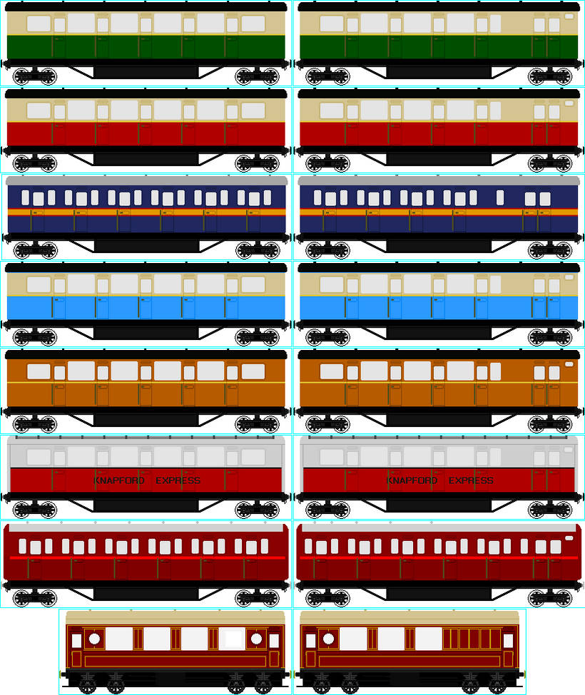 Nwr Express Coach Collection By Cj The Creator On Deviantart