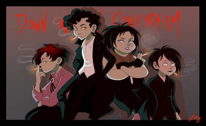 SP: Goth Kids by ishimaru-miharu
