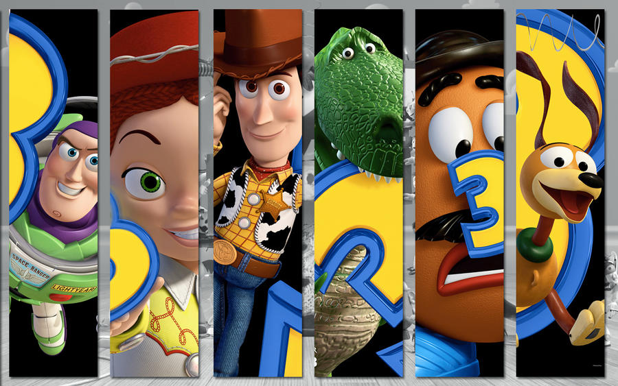Toy Story 3 Wallpaper By Hioe