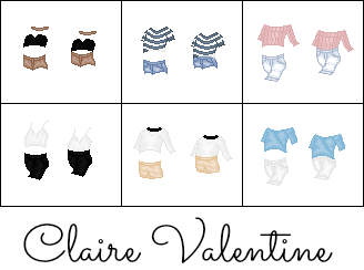 Different Styles by Claire-Valentine