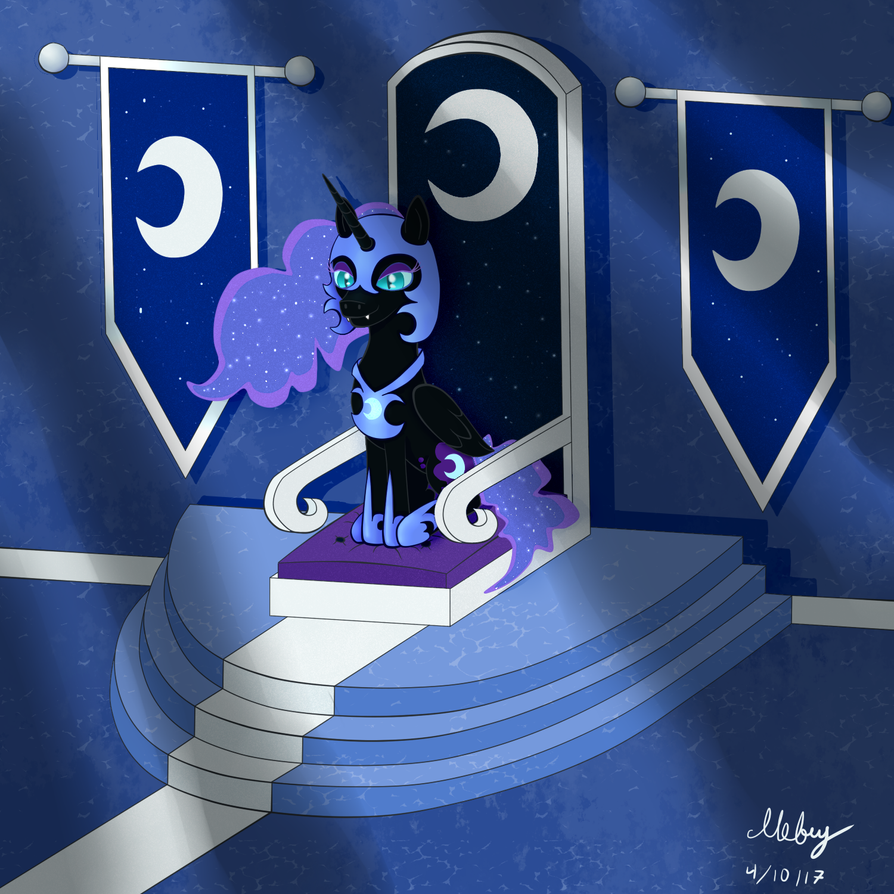 NightmareMoon (Contest entry) by Ilebuy