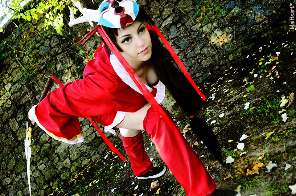 Akali - Blood Moon by maiheartx on DeviantArt Bloodmoon Akali Costume
