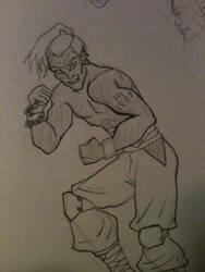 30DaysofSuperheroes- Day 3 Martial Artist