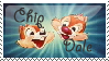 Chip and Dale - Stamp by Wishful-soul