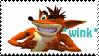 Crash Bandicoot - Stamp by Wishful-soul
