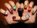DC Comics Nails
