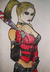 Harley Quinn by KariInlove