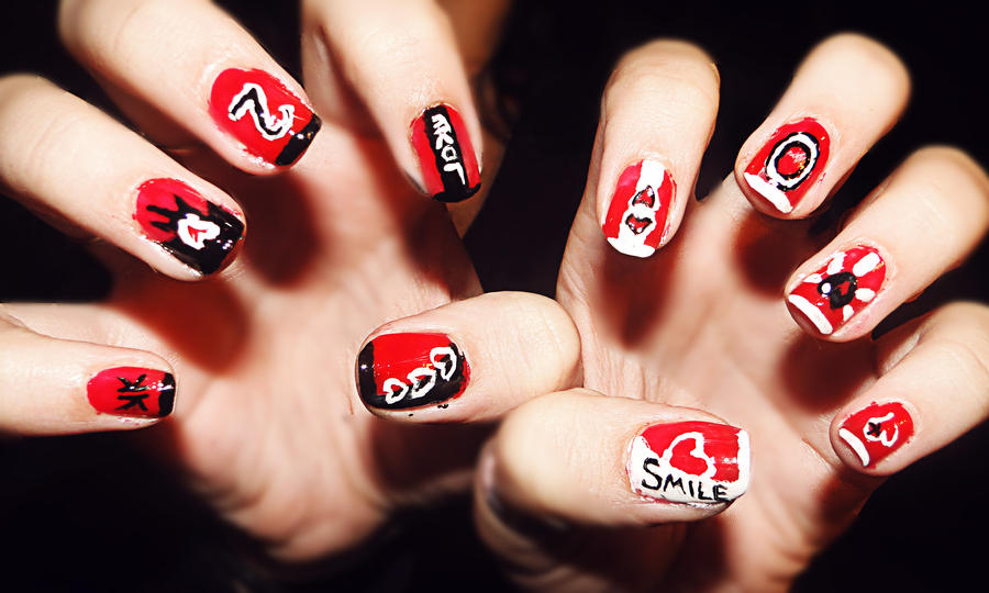 20 Nail Art by KariInlove ... - 20 Nail Art By KariInlove On DeviantArt