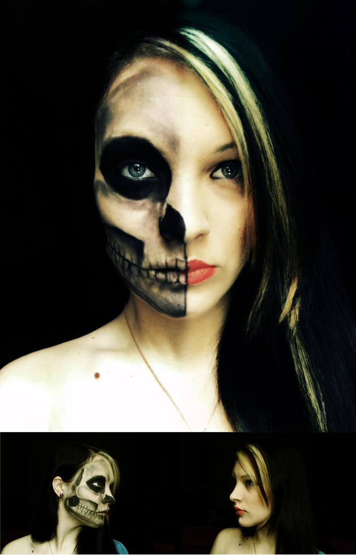 First Attempt. Skull. by KariInlove