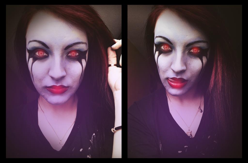 Dota 2 Queen Of Pain Makeup by KariInloveQueen Of Pain Dota