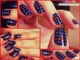 Disco Nails. by KariInlove