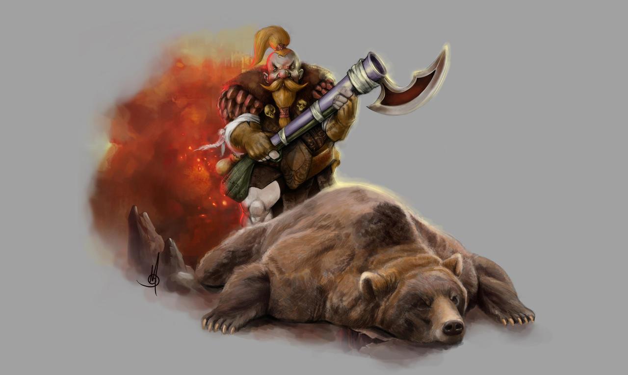 Dwarf by muratgul