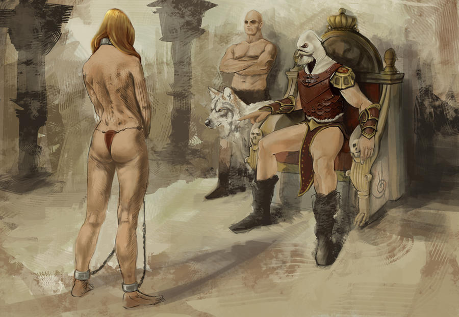 Thank erotic art slave market roman think, that