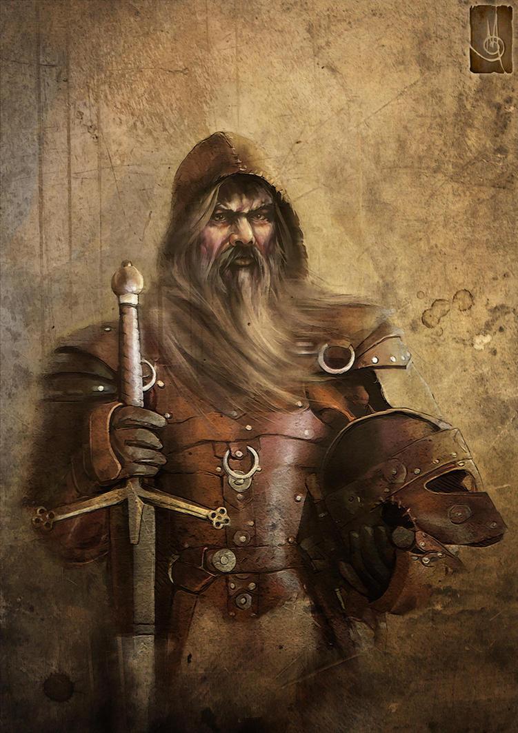 Swordsman by muratgul