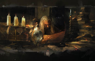 Gandalf the Grey by muratgul