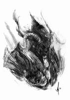 Barbarian portrait by muratgul