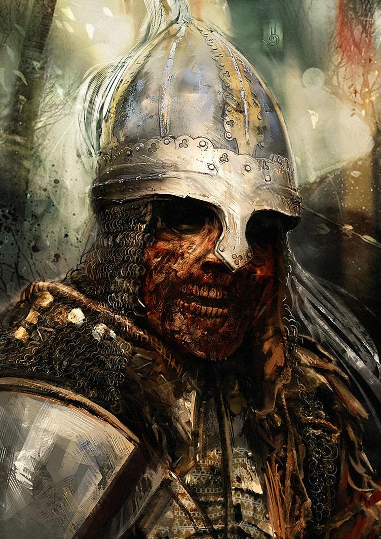 Medieval Zombie by muratgul